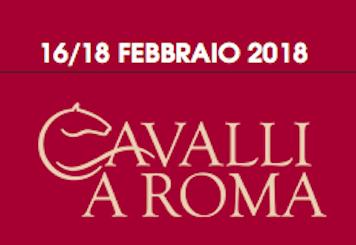 Cavalli a Roma 2018 16/18 Febbraio