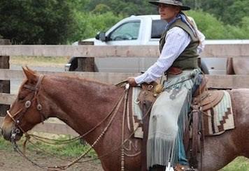 Buckaroo a cavallo