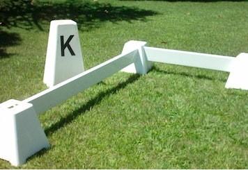 Lettera K del campo da dressage