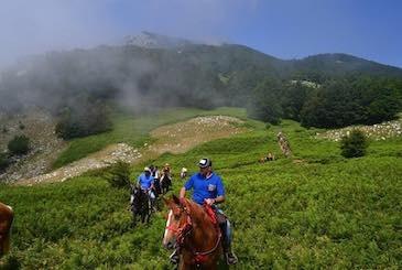 Trekking sulle montagne